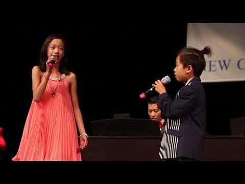Ella and Lucas - A Whole New World vocal duet NCM Music Festival 2018