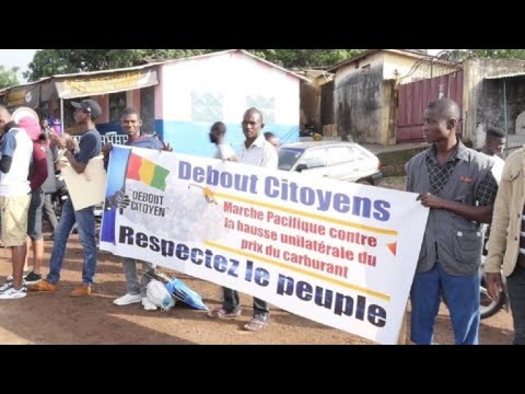 Guinea capital paralysed by fuel price strike