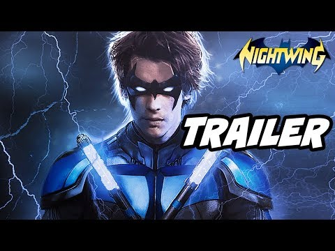 Titans Nightwing Trailer - First Look Nightwing Scene Reaction and Batman Easter Eggs
