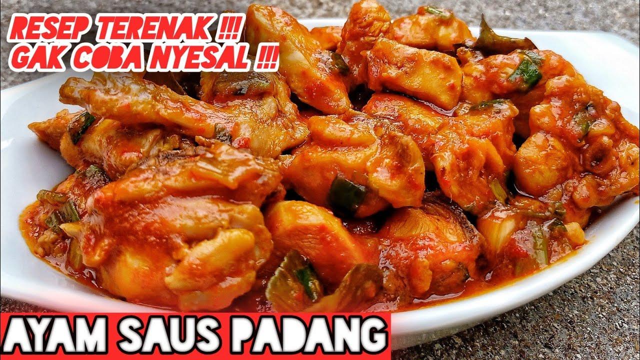 Cara Masak Ayam Saus Padang Youtube