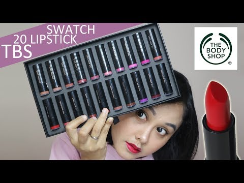 the-body-shop-colour-crush-lipstick-review-&-swatch-(20-warna!)