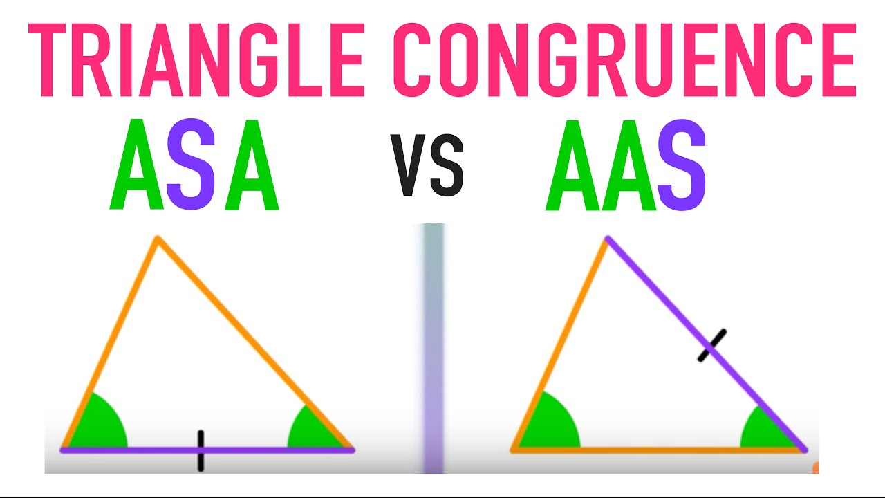 ☆TRIANGLE PROOFS: ASA or AAS? ...