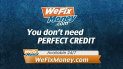 We Fix Money |WeFixMoney.com Commercial 2018