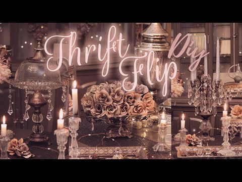 THRIFT FLIP DIY - Magical, French, Victorian, Rococo Diys For Your Home
