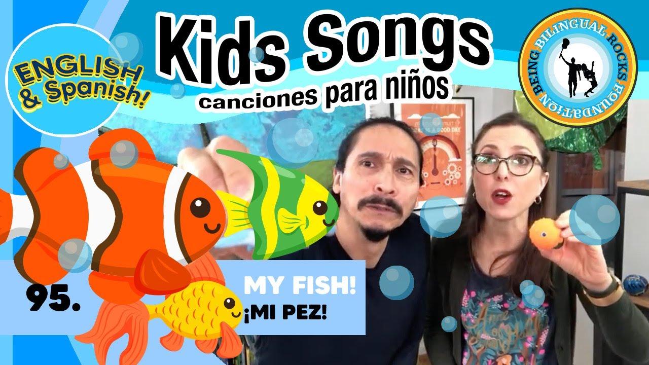 Kids Songs Animals - FISH - Alina Celeste and Mi Amigo Hamlet - Family Learn Spanish Class 95 - YouTube