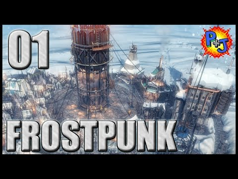 Let's Play Frostpunk | Walkthrough Gameplay Episode 1 | Getting Our City Started (P+J)
