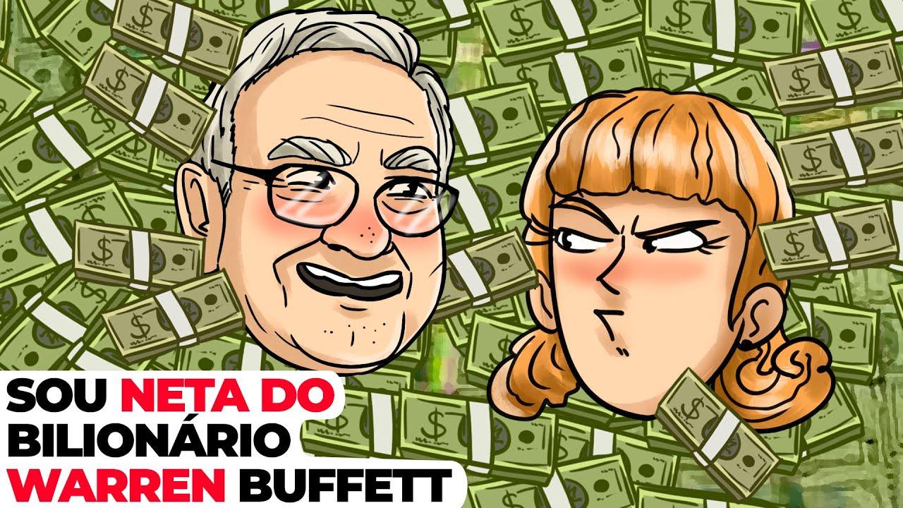 Sou Neta Do Bilionário Warren Buffett | História Animada Sobre Favelas