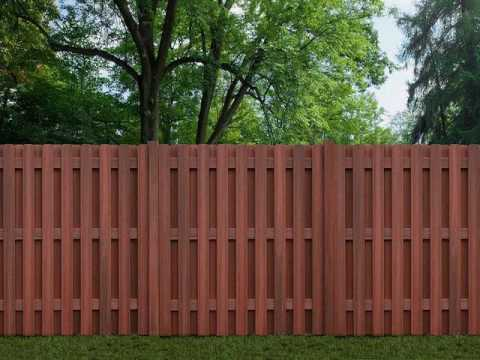 how much does it cost to install a 100 feet wood fence youtube. Black Bedroom Furniture Sets. Home Design Ideas