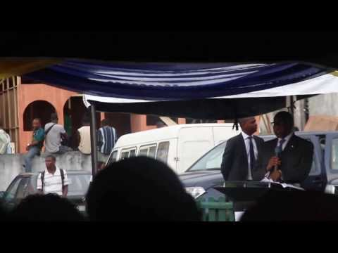 Olusegun Aganga Talks about Power sector reforms at International Trade Fair