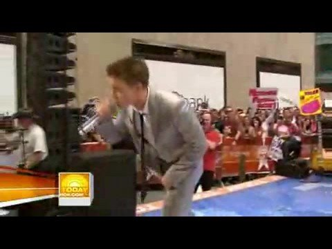 Jesse McCartney - Leavin' - The Today Show HQ - 8/29/08
