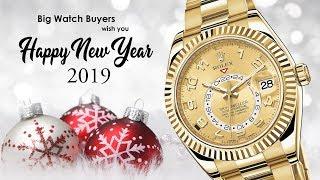Big Watch Buyers Wish You Happy New Year 2019 ♥