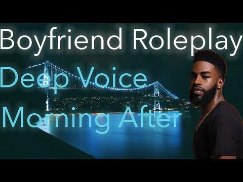*Deep Moaning** Boyfriend Roleplay ASMR | Morning After Deep Voice | Khleo Bella [M4F]
