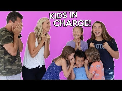 Parents CAN'T say NO! KIDS CONTROL the Day!