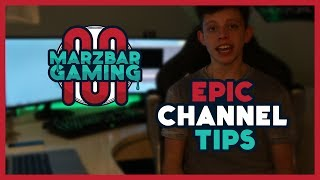 Advice From Marz: How To Run a Successful Channel + Shoutouts!