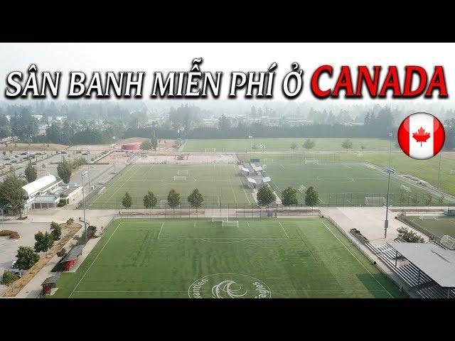 🍁Cuộc Sống Canada: Sân Đá Banh, Tennis, Bóng rổ miễn phí ở Canada | Quang Lê TV #103