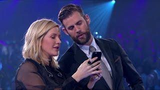 Watch Pär Lernström's selfie med Ellie Goulding - Idol Sverige (TV4)