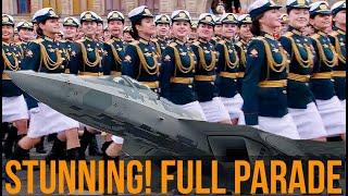 HAPPY VICTORY DAY! Russia's Victory Day Parade 2021 in Moscow On Red Square! FULL PARADE!