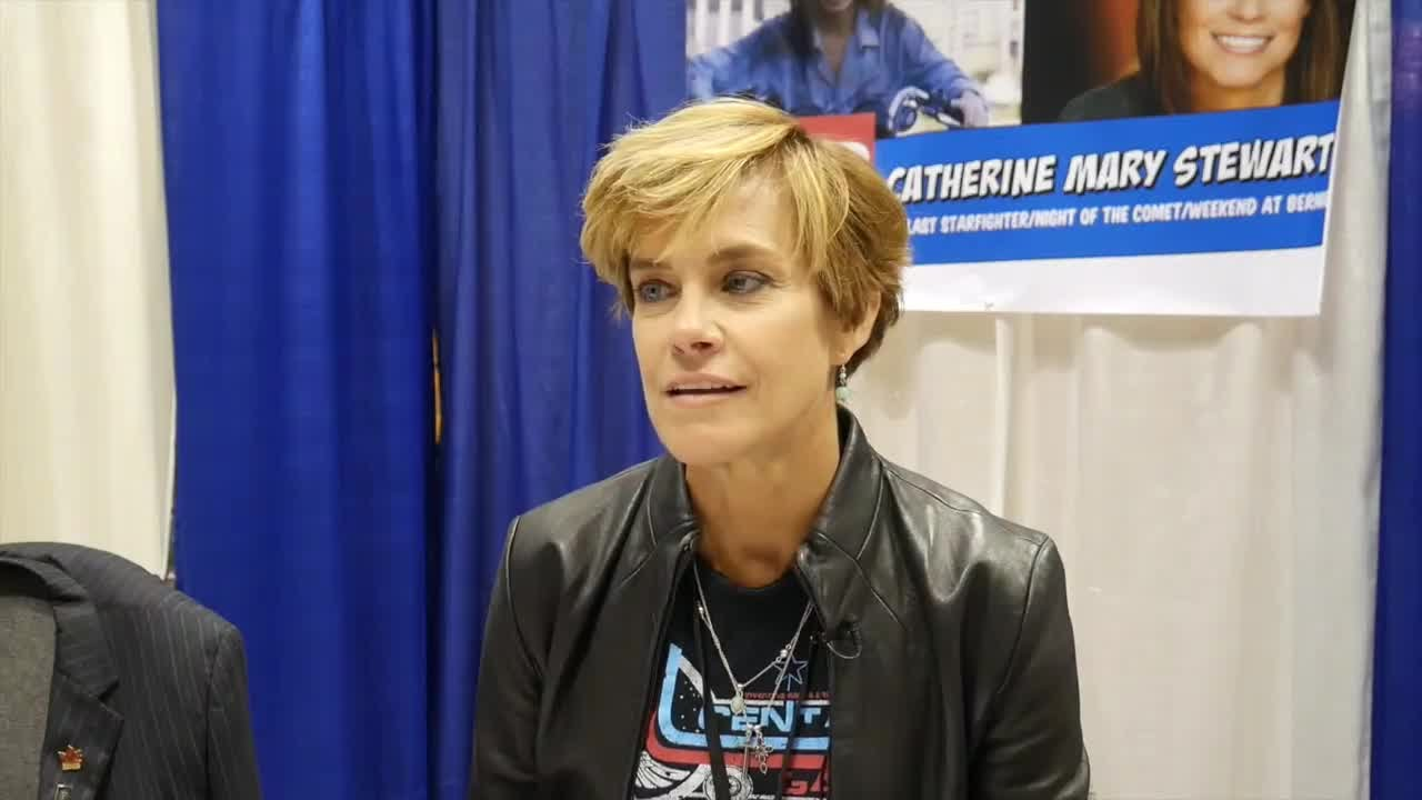 Catherine Mary Stewart night the comet