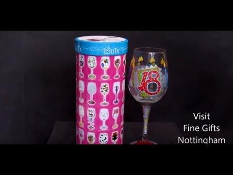 Lolita 18th Birthday Wine Glass