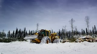 Feller and Skidder Tigercat in Canada - Tigercat '20'