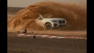 The new BMW X5 2019  at full throttle - Monza, Sahara