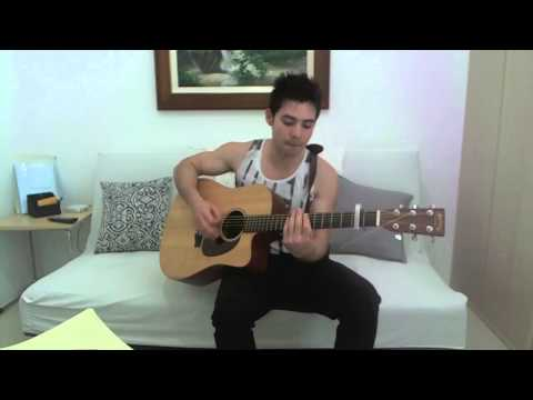 Justin Timberlake  LoveStoned Vince Conti acoustic cover