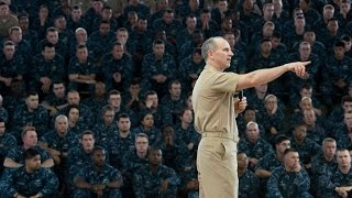 CNO Adm. Jonathan Greenert Conducts All Hands Call from Joint Base Pearl Harbor-Hickam