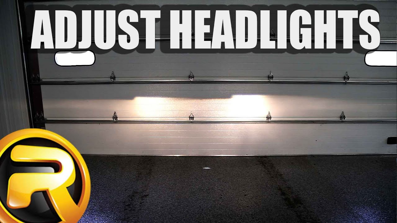How To Adjust Headlights >> How To Adjust Your Projector Headlights Youtube