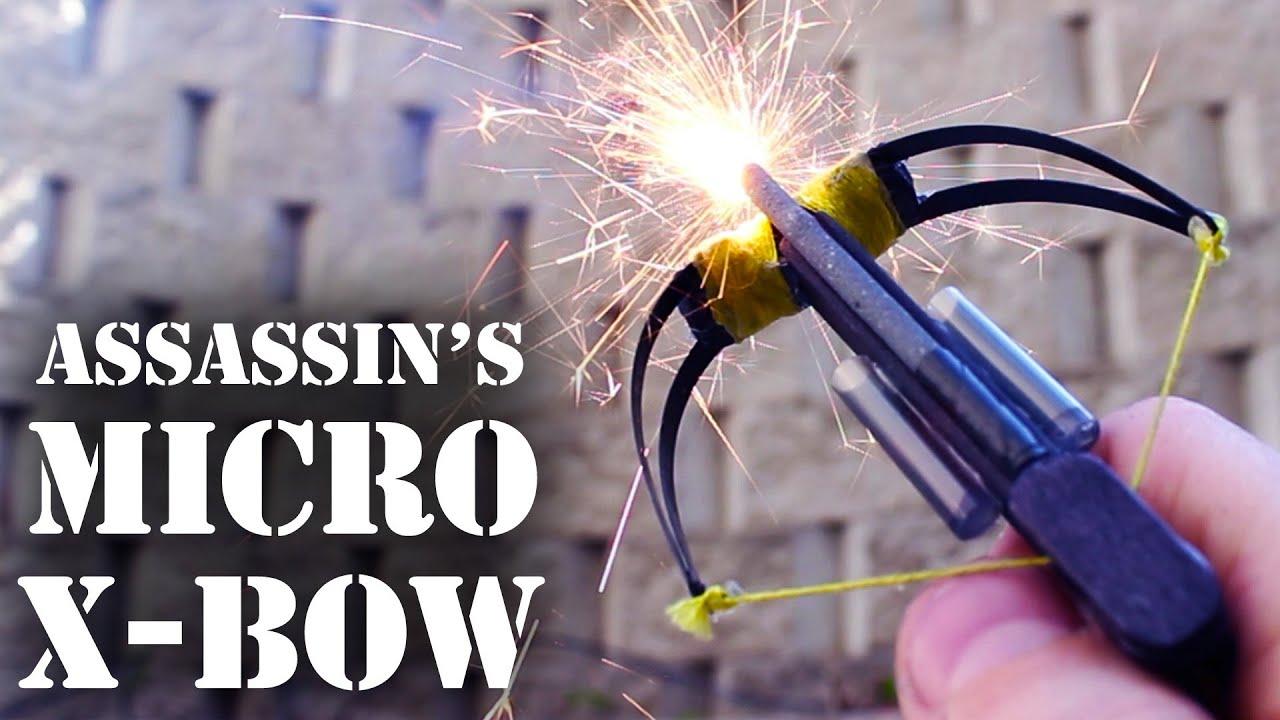 hight resolution of assassin s micro crossbow