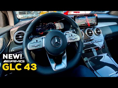2020 Mercedes AMG GLC 43 NEW Facelift FULL Interior MBUX Review