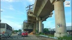 Condition of Ruby Hospital-Satyajit Ray Stretch of Kolkata Metro