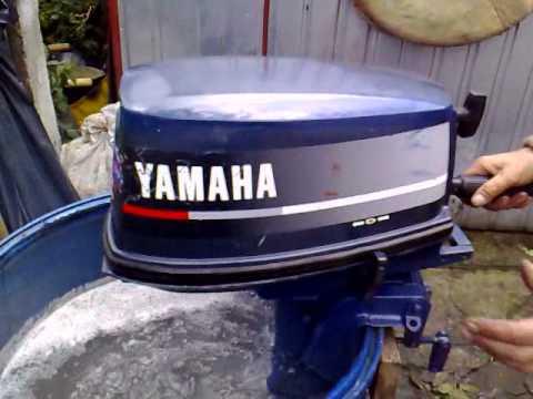Yamaha 5 Hp Outboard Motor 1997r 2 Stroke Dwusuw Youtube