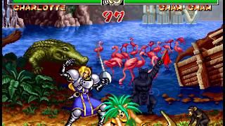 Samurai Shodown II Charlotte (Playthrough, Gameplay, Walkthrough, Historia, Ending)