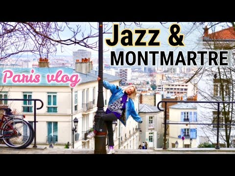 PARIS VLOG #4 Dancing in Jazz clubs + exploring Montmartre w/my sister!