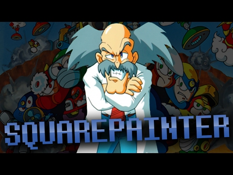 Dr Wily Speed Painting - Squarepainter