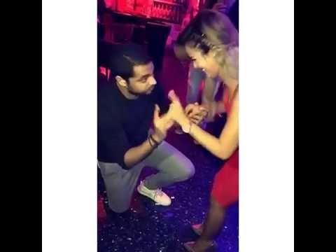 Rana Samaha   رنا سماحة ترقص فى حفل خطوبتها