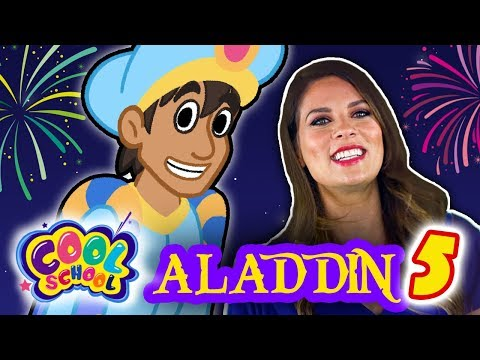 Aladdin and the Magic Lamp - Part 5 | Story Time with Ms. Booksy at Cool School