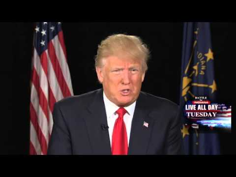 Donald Trump sits down with Hannity ahead of Indiana primary