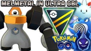 Shiny Melmetal in Ultra GO Battle League takes control Pokemon GO
