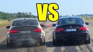 BMW M3 F80 vs M3 E92 V8 🚀SOUND & RACE🚀