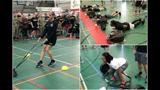 Demonstration of the new Army Combat Fitness Test | We tried it behind the scenes