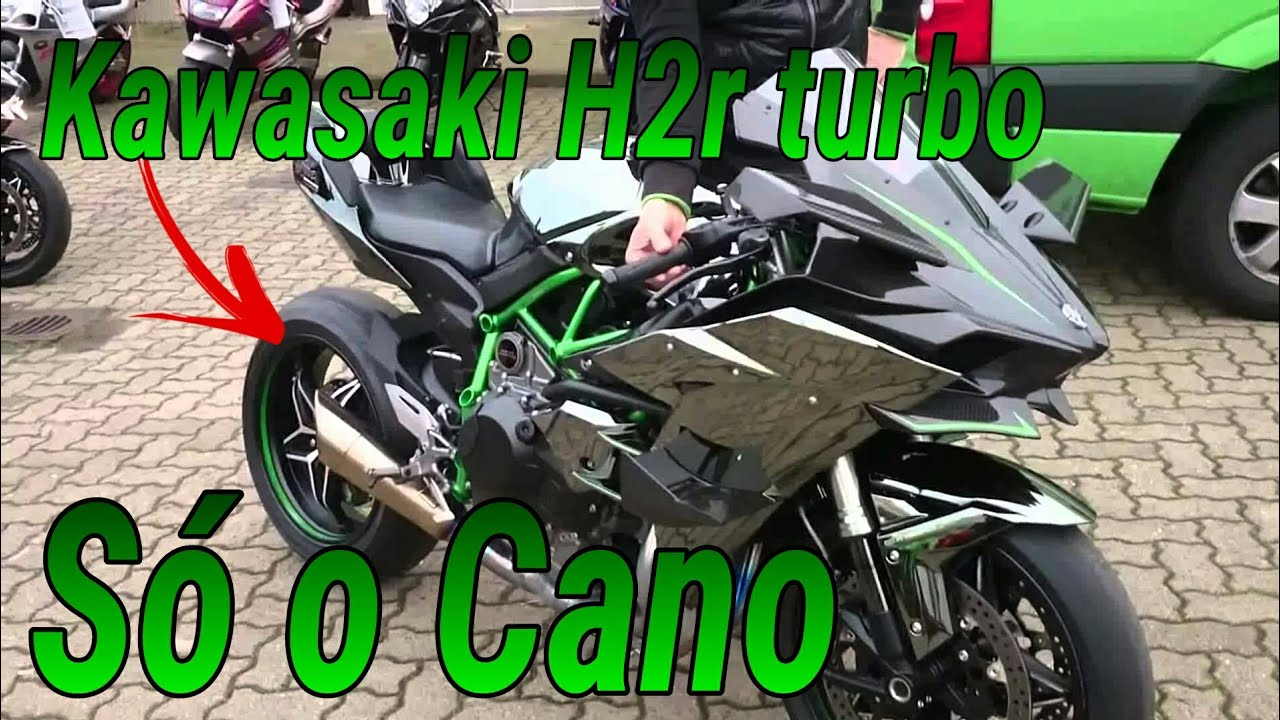 kawasaki h2r turbo s o cano youtube. Black Bedroom Furniture Sets. Home Design Ideas