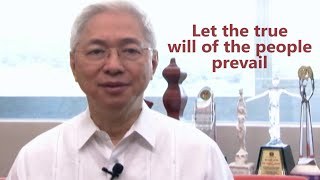 President Alfredo E. Pascual's Message on UP sa Halalan 2016