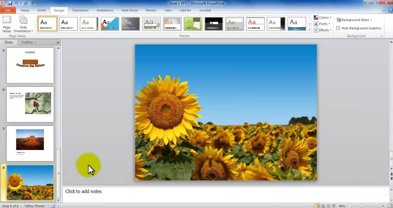slide themes for powerpoint 2007