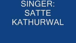 Chor Jar Luchche Daku Ka..By Satte Kathurwal (Pure Haryanvi Ragni)
