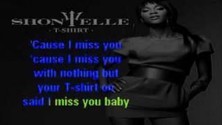 Shontelle   T Shirt Karaoke On Screen Lyrics