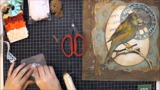 Mixed Media Vintage Art Box Tutorial - Too Much Of A Good Thing Can Be Wonderful