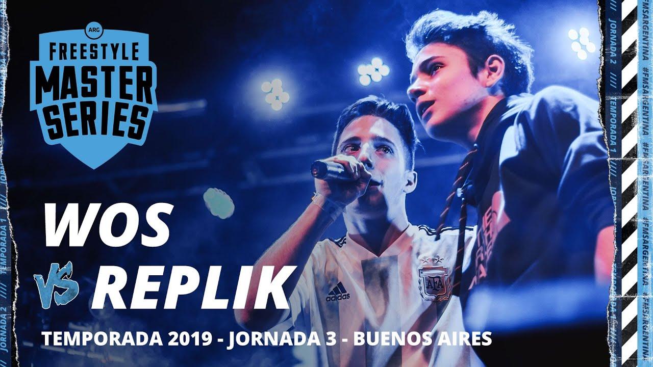 WOS vs REPLIK FMS Argentina Jornada 3 OFICIAL - Temporada 2018/2019.