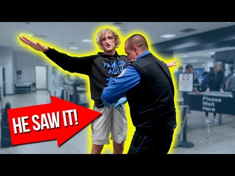 TSA SEARCH GOES WAY TOO FAR! (inappropriate)