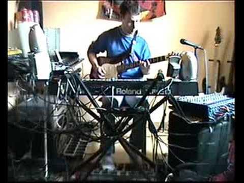 Flying In A Blue Dream (Joe Satriani) Steackmike One Man Band Version